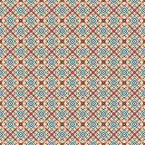 Textura rayada retra inconsútil única del modelo de Dot Tiles Colorful Fabric Geometric ilustración del vector