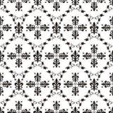 Textura real del victorian inconsútil con la flor de lis Imagen de archivo libre de regalías