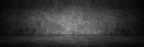 Textura real do fundo do quadro do tela panorâmico da placa no conceito da faculdade para de volta ao papel de parede panorâmic imagens de stock royalty free