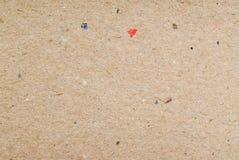 Textura reciclada de la cartulina para el fondo Imagen de archivo libre de regalías