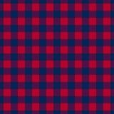 Textura rectangular del contraste inconsútil del tartán ilustración del vector