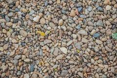 Textura redonda do fundo da rocha Foto de Stock