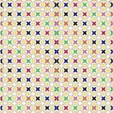 Textura regular con la cruz colorida Foto de archivo