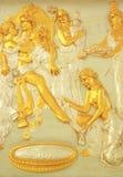 Textura religiosa. imagen de archivo libre de regalías
