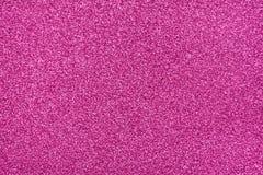 Textura reluciente Papel rosado del brillo Fotos de archivo libres de regalías