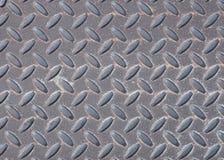 Textura resistida de la Diamante-placa Foto de archivo libre de regalías