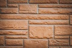 Textura retangular do fundo da forma da parede de tijolo vermelho para o teste padr?o imagem de stock royalty free