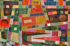 Textura retra de la pared Fotografía de archivo libre de regalías