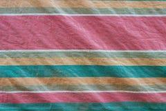 Textura retra de la tela de las lonas Foto de archivo libre de regalías