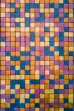 Textura retra de las tejas de mosaico del vintage Imágenes de archivo libres de regalías