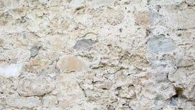 Textura retra del fondo de la pared de piedra de la cantidad almacen de video