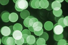 Textura retra verde del fondo, del partido, de la celebración o de la Navidad de las luces Imagenes de archivo