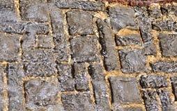 Textura Rippled da água Imagens de Stock Royalty Free