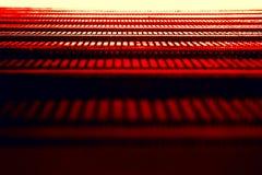 Textura roja abstracta Imágenes de archivo libres de regalías