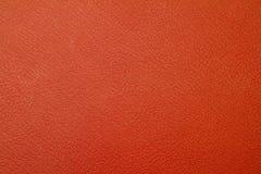 Textura roja de cuero Imagenes de archivo