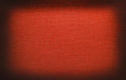 Textura roja de la lona Fotografía de archivo