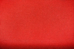 Textura roja de la lona Foto de archivo libre de regalías