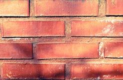 Textura roja de la pared Imagen de archivo