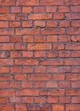 Textura roja de la pared de ladrillo foto de archivo libre de regalías
