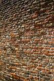 Textura roja de la pared de ladrillo Imagen de archivo