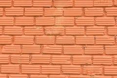 Textura roja de la pared de piedra Imágenes de archivo libres de regalías
