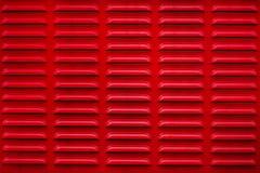 Textura roja de la parrilla Acoplamiento abstracto Fotos de archivo