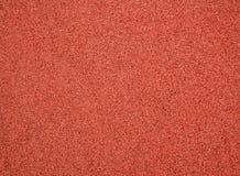 Textura roja de la pista fotografía de archivo libre de regalías