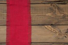 Textura roja de la tela Imágenes de archivo libres de regalías
