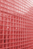 Textura roja del azulejo foto de archivo