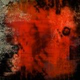 Textura roja del grunge Fotografía de archivo libre de regalías