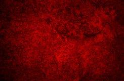 Textura roja del grunge stock de ilustración