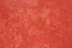 Textura roja del muro de cemento Fotografía de archivo