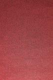 Textura roja del paño Fotografía de archivo libre de regalías