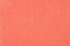 Textura roja del paño Imagen de archivo