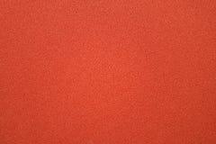 Textura roja del paño Foto de archivo libre de regalías