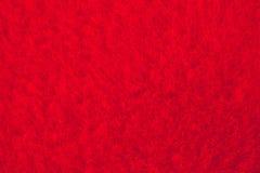 Textura roja del terciopelo Fotos de archivo