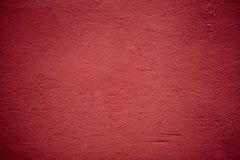 Textura roja del yeso Fotos de archivo