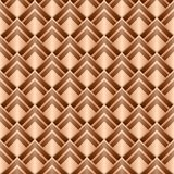 Textura roja. Fondo inconsútil del vector Imagen de archivo libre de regalías
