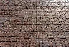 Textura roja y gris del pavimento Imagen de archivo libre de regalías