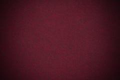Textura rojo oscuro del terciopelo Fotos de archivo libres de regalías