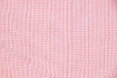 Textura rosa clara del paño de la microfibra Imágenes de archivo libres de regalías