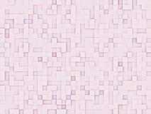 Textura rosada abstracta de los cuadrados Fotos de archivo