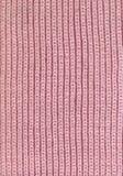 Textura rosada de la bufanda Fotografía de archivo libre de regalías