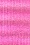 Textura rosada de la estera de la yoga Imagen de archivo