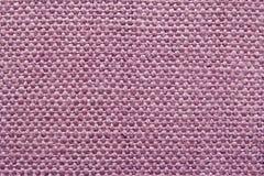 Textura rosada de la lona Foto de archivo libre de regalías