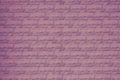 Textura rosada de la pared de ladrillo Pared de piedra púrpura decorativa Espacio vac?o Modelo de la pared de ladrillo violeta Pa imagen de archivo