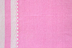 Textura rosada de la tela Imagen de archivo libre de regalías