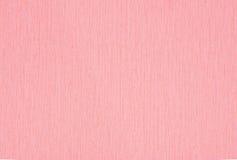 Textura rosada de la tela Foto de archivo libre de regalías