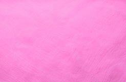 Textura rosada de la tela de la gasa de la tela Fotografía de archivo libre de regalías