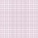 Textura rosada de la tela escocesa para un álbum del bebé Fotografía de archivo
